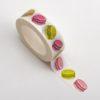 Adhesive Washi Tape - Macaroons 15mm x 10m