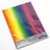 250 GSM, A4 Rainbow Glitter Card (10 Pack)