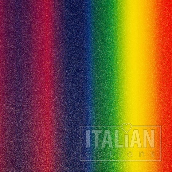 250 GSM, A4 Rainbow Glitter Card (10 Pack)