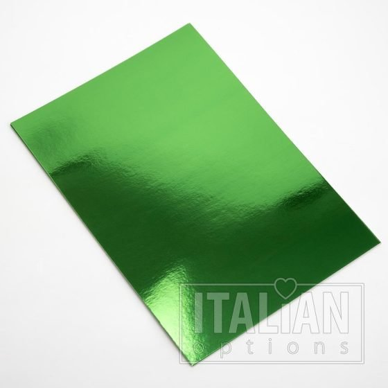 A4 Green Mirror Card (10 Pack)