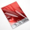 A4 Red Mirror Card (10 Pack)
