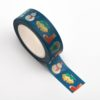 Adhesive Washi Tape 15mm x 10M - Christmas theme