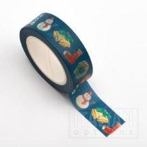 Adhesive Washi Tape 15mm x 10M - Christmas theme
