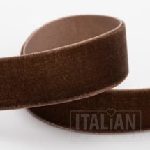Velvet Ribbon Dark Brown - 9mm, 18mm, 25mm
