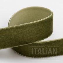 Velvet Ribbon Moss Green - 9mm, 18mm, 25mm