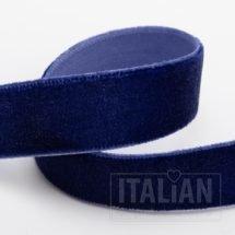 Velvet Ribbon Navy - 9mm, 18mm, 25mm