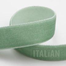 Velvet Ribbon Sage Green - 9mm, 18mm, 25mm