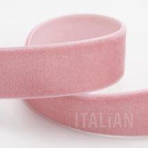 Velvet Ribbon Vintage Pink - 9mm, 18mm, 25mm