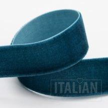 Velvet Ribbon Vintage Teal - 9mm, 18mm, 25mm