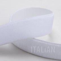 Velvet Ribbon White - 9mm, 18mm, 25mm
