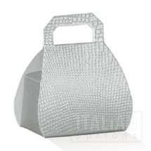 Silverskin Handbag favour box H.80mm