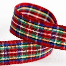 16mm Highland Tartan Ribbon x 10M