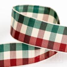 25mm Country Tartan Ribbon x 10M