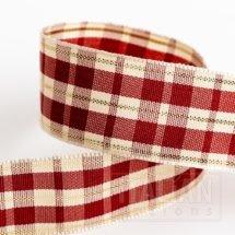 25mm Heritage Tartan Ribbon x 10M