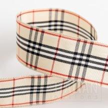 25mm Nova Tartan Ribbon x 10M