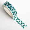 Adhesive Washi Tape 15mm x 10M - Holly & Berries