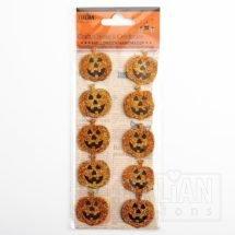 Glitter Halloween Pumpkins (10 pcs)