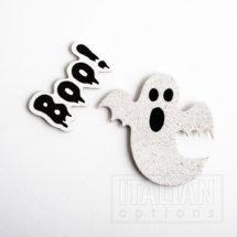Glitter Halloween Ghosts (8 pcs)