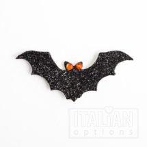 Glitter Halloween Bats (8 pcs)