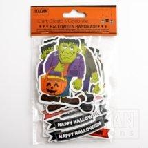 Halloween Die Cut Frankenstein Shapes (12 pcs)