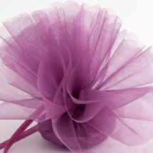Organza Scalloped Edge