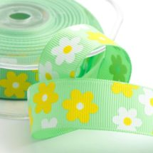 flower grosgrain ribbon