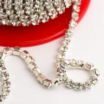 Diamante Chain & Mesh Ribbons