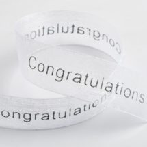 congratulations ribbon