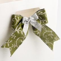 lurex scroll ribbon