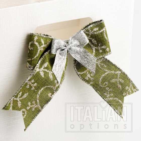 lurex scroll ribbon
