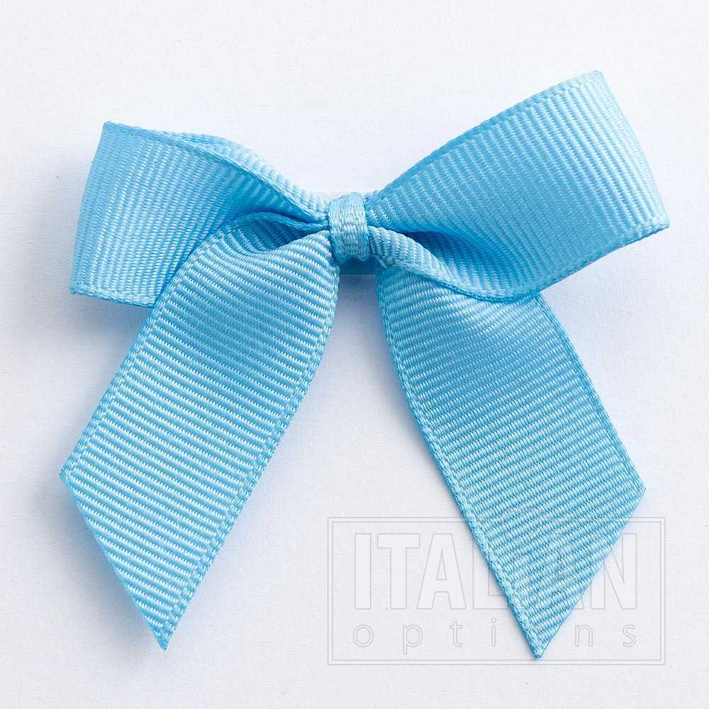 ** BLUE//WHITE 10m Wide ** BABY Grossgrain Ribbon