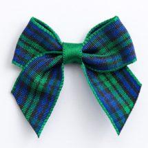 4cm Tartan Ribbon Bows