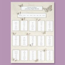 wedding seating planner