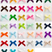 3cm Satin Ribbon Bows